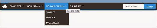 cara membuat menu dropdown keren 173 cara membuat menu navigasi dropdown keren di blog uduy macal