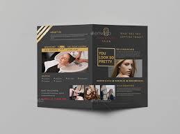 hair stylist u0026 salon a5 brochure template by wutip2