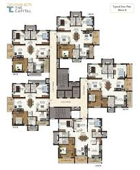 typical floor plan the capital