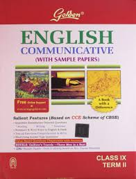 amazon in buy golden english communicative class ix term ii book
