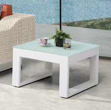 frosted glass coffee table contract quality outdoor side table glass top tb outdoor design