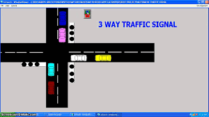 scada designing project 3way traffic signal youtube