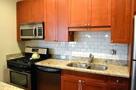 subway tiles for backsplash in kitchen glass tile ideas yellow