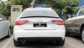 audi a4 spoiler 2013 pu jc b9 style a4 rear spoiler for audi a4 b9 rear trunk roof