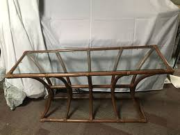 Glass Entry Table 100 Rattan Glass Entry Table Furniture In Pearl City Hi