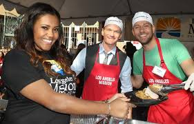 the los angeles mission s thanksgiving for skid row homeless