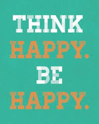 think happy be happy free printable pdf grey and