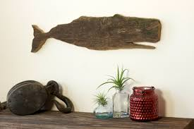 whale moby barn wood whale cut out silhouette wall