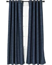 Light Block Curtains 25 Uptown Striped Light Blocking Curtain Panel Navy
