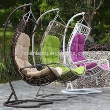 Swing Patio Furniture Balcony Woven Big Thick Rattan Swing Chair View Swing Flying