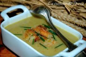 cuisine de doria cauliflower soup velouté de choux fleurs la cuisine de doria