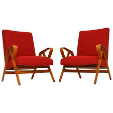 Retro Armchairs For Sale Pair Of Retro Armchairs By Tatra Nabytok Vintage 1950s For Sale