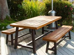 patio table and bench patio pergola awesome wood patio table ideas awesome patio table