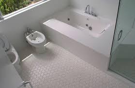 white bathroom floor tile ideas white mosaic floor tile bathroom home design ideas wonderful