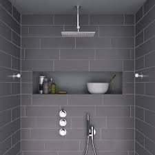 Grey And White Bathroom Tile Ideas Small Bathroom Gray Tile Bathroom Design Ideas 40 Grey Bathroom