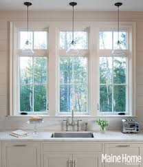 Pendant Lights For Kitchens by Best 25 Window Over Sink Ideas On Pinterest Country Kitchen