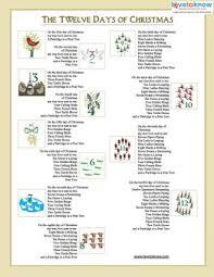 printable lyrics public domain christmas songs lovetoknow