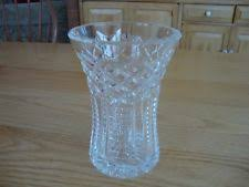 Vintage Waterford Crystal Signed 8 Inch Flower Vase In How To Identify Waterford Crystal Ebay