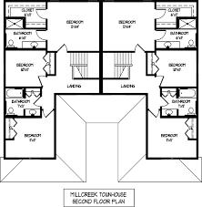 Second Floor Plans Floor Plans Meadows Of Mill Creek