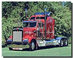 kenworth accessories store red kenworth big rig richard stockton truck poster rigs and