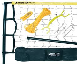 amazon com park and sun sports spectrum 179 volleyball set color