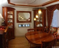 dining room corner cabinets formal dining room in mahogany
