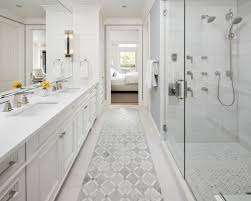 White Cabinet Bathroom Ideas White And Cherry Cabinets Bathroom Ideas Photos Houzz