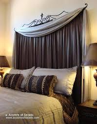 Homemade Headboards Ideas by Diy Curtain Headboards U2013 Easy Décor Styles King Size Bedrooms