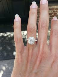 radiant cut engagement rings marvellous radiant cut halo engagement rings 45 in simple design