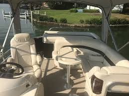 Aqua Patio Pontoon by Used 2009 Aqua Patio Ap 240 Equality Al 36026 Boattrader Com