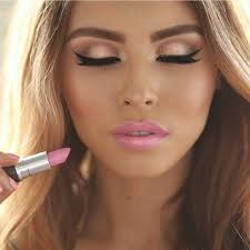 yourself or at home bridalmakeup pretty fresh looking makeup for summer time i love a light pink lip way more than