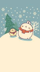 halloween background kawaii molang wallpapers free for iphone and galaxy from lollimobile