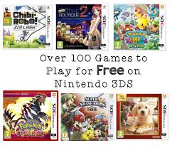 over 100 games to play for free on nintendo 3ds in the playroom over 100 games to play for free on nintendo 3ds and how to download them