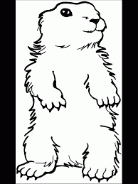 groundhog day coloring pages groundhog day coloring page standing