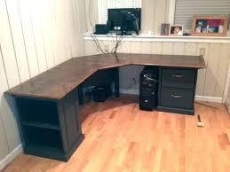 Curved L Shaped Desk Rounded Computer Desk Desk Corner Desk Curved Front Modular Curved