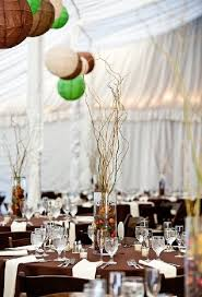 Curly Willow Centerpieces Diy Wedding Decoration Ideas Starsricha