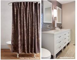 Purple And Brown Shower Curtain There Are 9 Neutral Undertones In The World See Them Here