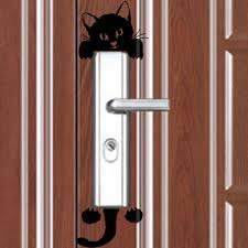 Wall Stickers Cats Sandistore Stickers Sandistore Cat Wall Stickers Light Switch