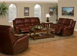 Burgundy Living Room Set by Parker House Titan Dual Reclining Power Sofa Dark Burgundy