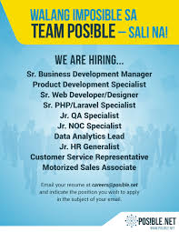 Product Development Manager Job Description Officer And Staff Vacancies Job Hiring Pinoyjobs Ph