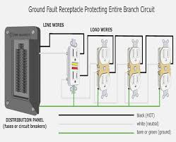 240v wiring diagram for gfci wiring gfci in series wire for gfci