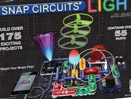 snap circuits lights electronics discovery kit scl 175b snap circuits lights electronics discovery kit by elenco