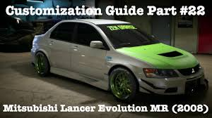 lancer mitsubishi 2008 need for speed mitsubishi lancer evolution mr 2008