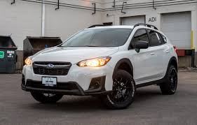 subaru crosstrek black wheels subaru crosstrek lifted enkei package vip auto accessories