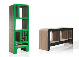 Stylish Bookshelf Stylish D Selection Bookshelves And Sideboards Are Made Of Cardboard