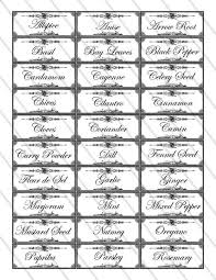 printable jar label sheets 19 best free printable spice labels images on pinterest spice jar