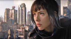 watch the second trailer for the u0027ghost in the shell u0027 movie