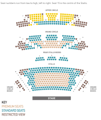 Creative Seating Place Seating Plan The Lyceum Royal Lyceum Theatre Edinburgh