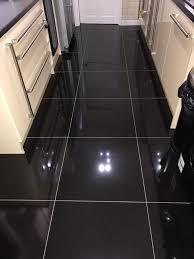 high gloss black porcelain floor tiles 600x600 in rossendale
