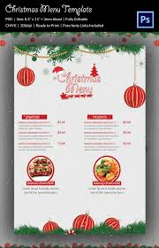 menu card templates menu template